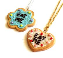 Life-size Eat Me Cake Necklace by FatallyFeminine