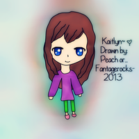 {OC} Kaitlyn by fantagerocks2013