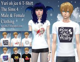 Yuri on ice 6 T-Shirt [TS4CC Download] by ng9