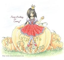Queen of Pumpkins by minore