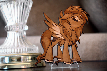 'Teen Zanon' by Pepooni - Final Laser Cut by Earth-Pony