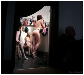 in the dressing room by scottchurch