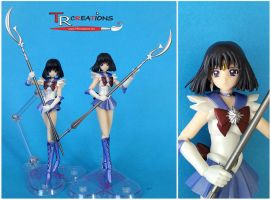 My custom Sailor Saturn S.H. Figuarts by zelu1984