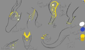 Dragon Jewelry Design #1 ~ Closed by silvershadowsong