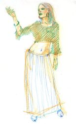 May Belly Dancer 30 by ChristineAltese