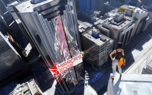 Mirrors Edge Abstract by PixelChanting