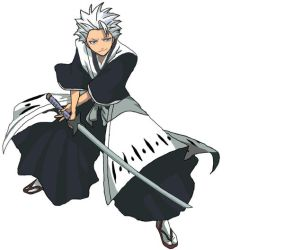 Toshiro Hitsugaya by hourd