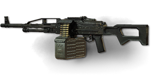 MW3: PKP Pecheneg by FPSRussia123