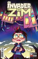 Invader Zim Issue #17 Variant Cover by Krooked-Glasses