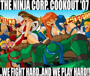 The 2007  Ninja Corp. Cookout by ShoNuff44