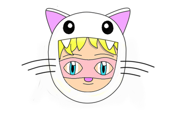 Pink Pussycat Chibi Face 5 by laprasking