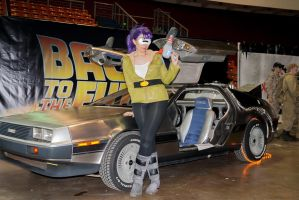 Leela's going Back to the Future by Ulkerei