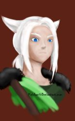 FF14 Evony Colored by Keirkan
