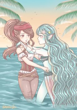My only love is the sea by Stephie-Jo