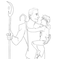 Loki and little Jack Frost by LOTOLLE