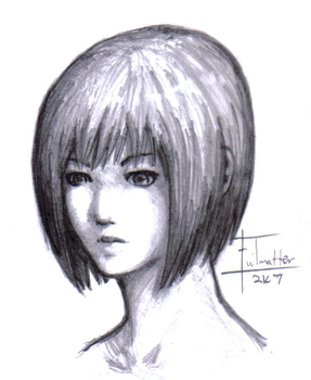 Claymore: Clare sketch by Evilmatter