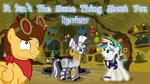 It Isn't the Mane Thing About You Title Card CMSN by DaJoestanator