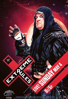 WWE Extreme Rules 2014 Poster ~ Undertaker by MhMd-Batista