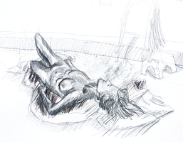 Life Drawing 10 by NebulaDreams