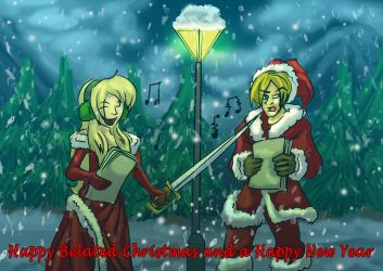 John and Cassandra's White Christmas by MikeOrion