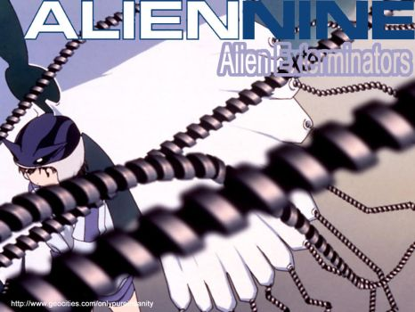 Alien Nine Wallpaper by Masked-Muggle