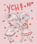 Valentine's Day YCH [OPEN] by kiniBee