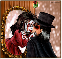 Bloody Kissing Mary by Deathlydollies13
