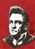 Johnny Cash by RalucaFratea