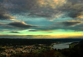 Ohio Valley Sunset by TimLaSure