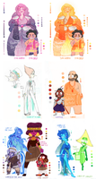 Elemental Au (Steven Universe) by Mangaotakufreak