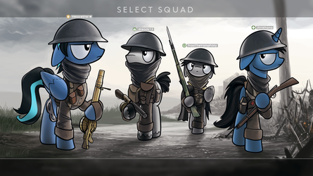 Commission - Squad up by Dori-to