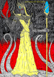 Hastur, the King in Yellow by AntoniasOfTheAbyss