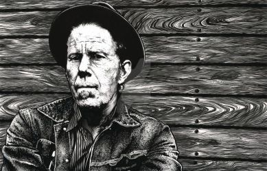 Tom Waits by stephenburger