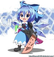Advent Cirno by chamoth143
