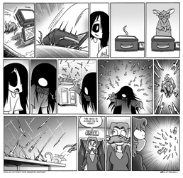 Erma- The Rats in the School Walls Part 3 by OUTCASTComix