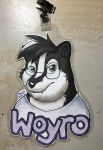 Commission: Woyro by PudgeyRedFox