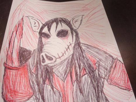 SAW Pig Mask by FloppsyProduction
