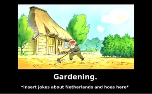 Gardening Demotivational by whatMadnessIsThis
