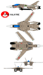 VF-1 Valkyrie Basic by bagera3005