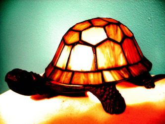 Turtle Lamp by hippos-are-phat