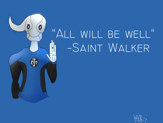 All will be well - Saint Walker by The-Henryverse