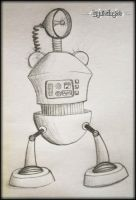 My sweet robot by mslaynie