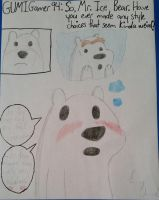 One of Ice Bear's Style Choices by GUMIGamer94