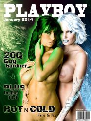Playboy Cover - Fire and Ice by LograySon