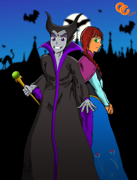 Disney Titans - Halloween 2014 by The-C-Commander