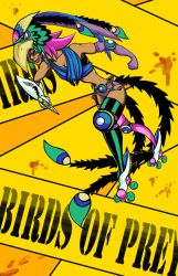 Roller Derby Girl Poster by Sifl-senpai