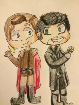 OUAT 30 drawing challenge [day 2] by CreeperTheDog
