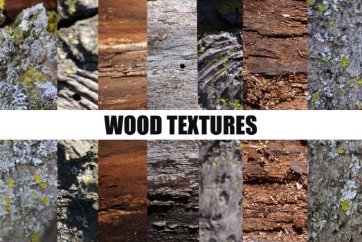 9 Wood Textures by CozyComfyCouch