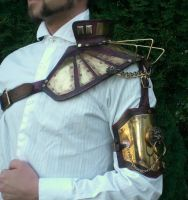Steampunk Power Shoulder by Skinz-N-Hydez