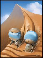 The Journey Continues with Sandsurfing by Patriartis